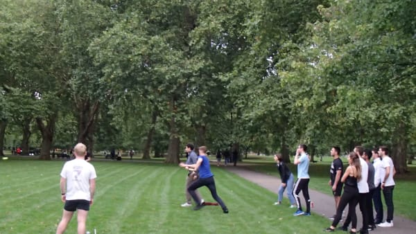Rounders with Accenture in Hyde Park