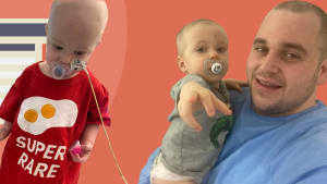 A dad's tale: What it's like when your one year old son is diagnosed with an ultra rare disease