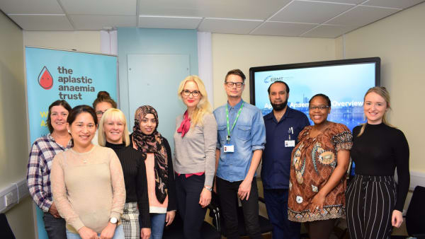 King's College Hospital and the AAT provide training to nurses