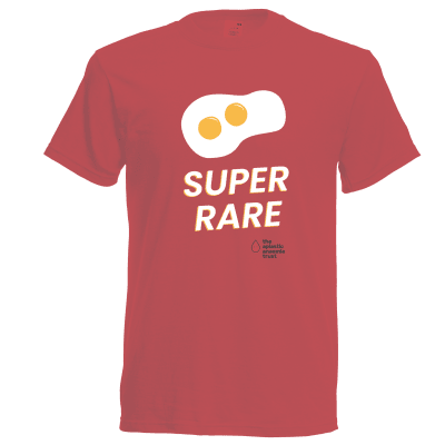 Super Rare -Red T Shirt- Adult Large