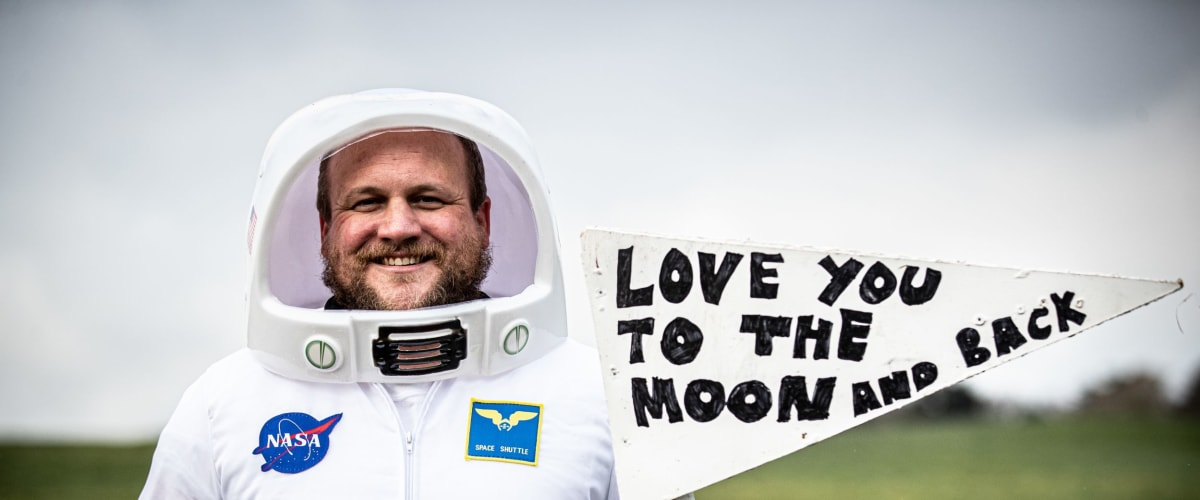 Become an astronaut and join Merv's Moontrekkers