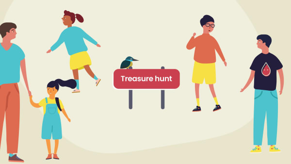 Try our MarrowKidz Treasure hunt