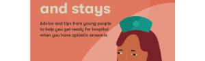 Preparing for hospital visits and stays (age group 12-16) - printed booklet