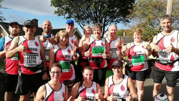 The AAT's GNR 2018 team nail the popular half