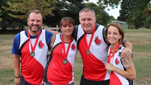 Tracey, Ian, Ray & Samantha smash the Markeaton Park Fun Run!