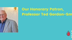 Professor Ted Gordon-Smith becomes AAT's patron